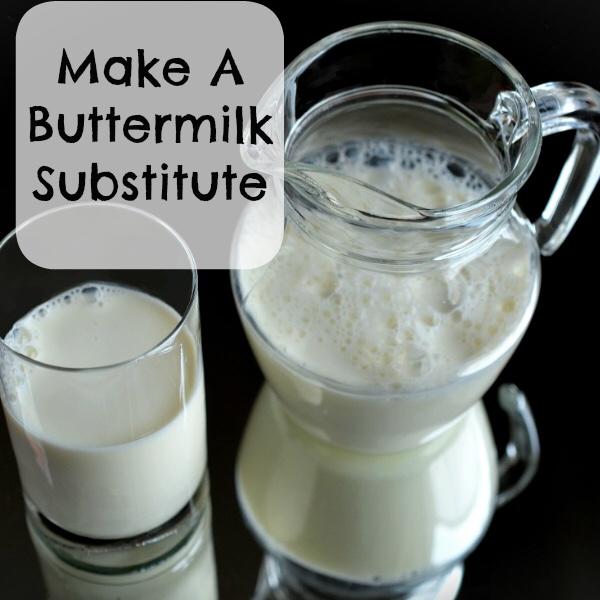 Make A Buttermilk Substitute