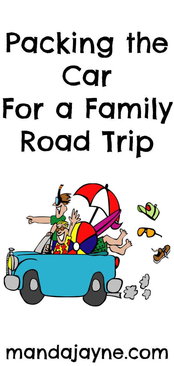 Packing the Car for a Family Road Trip