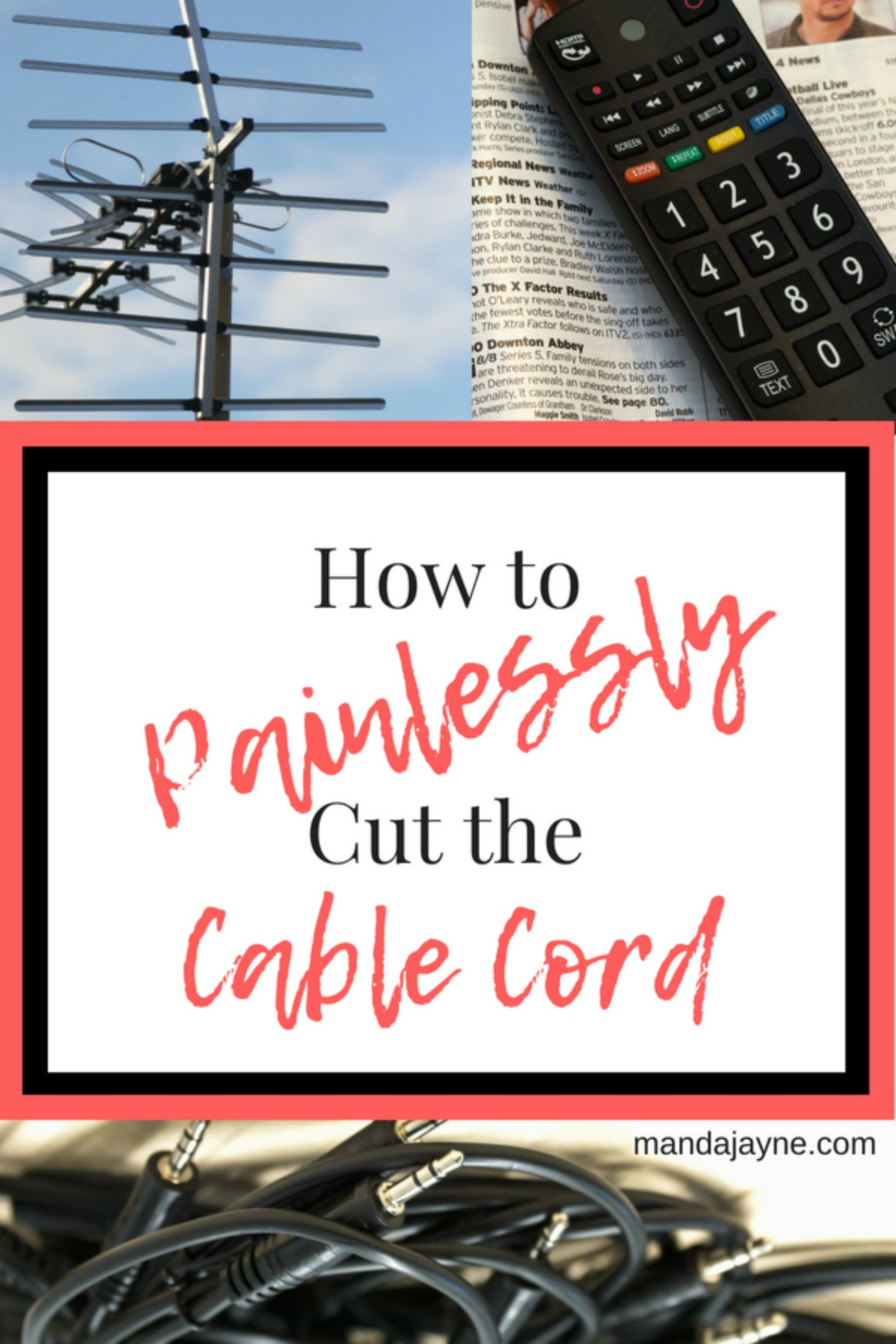 How to Painlessly Cut the Cable Cord