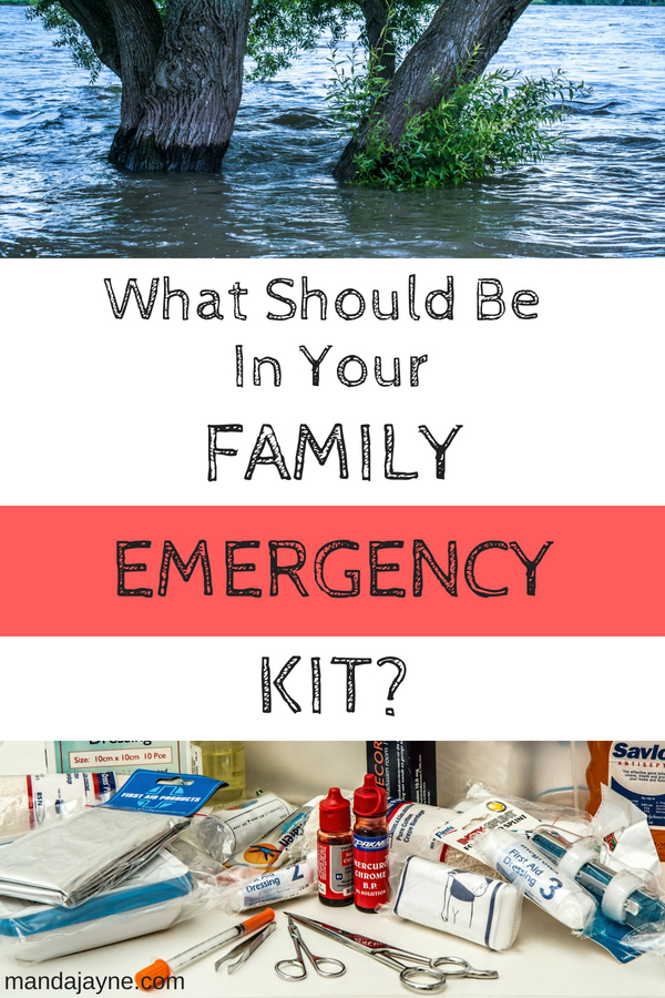 Family Emergency Kit