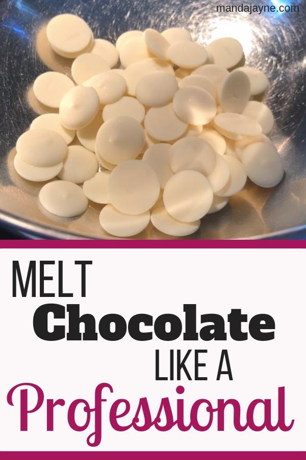 Melt Chocolate Like a Professional