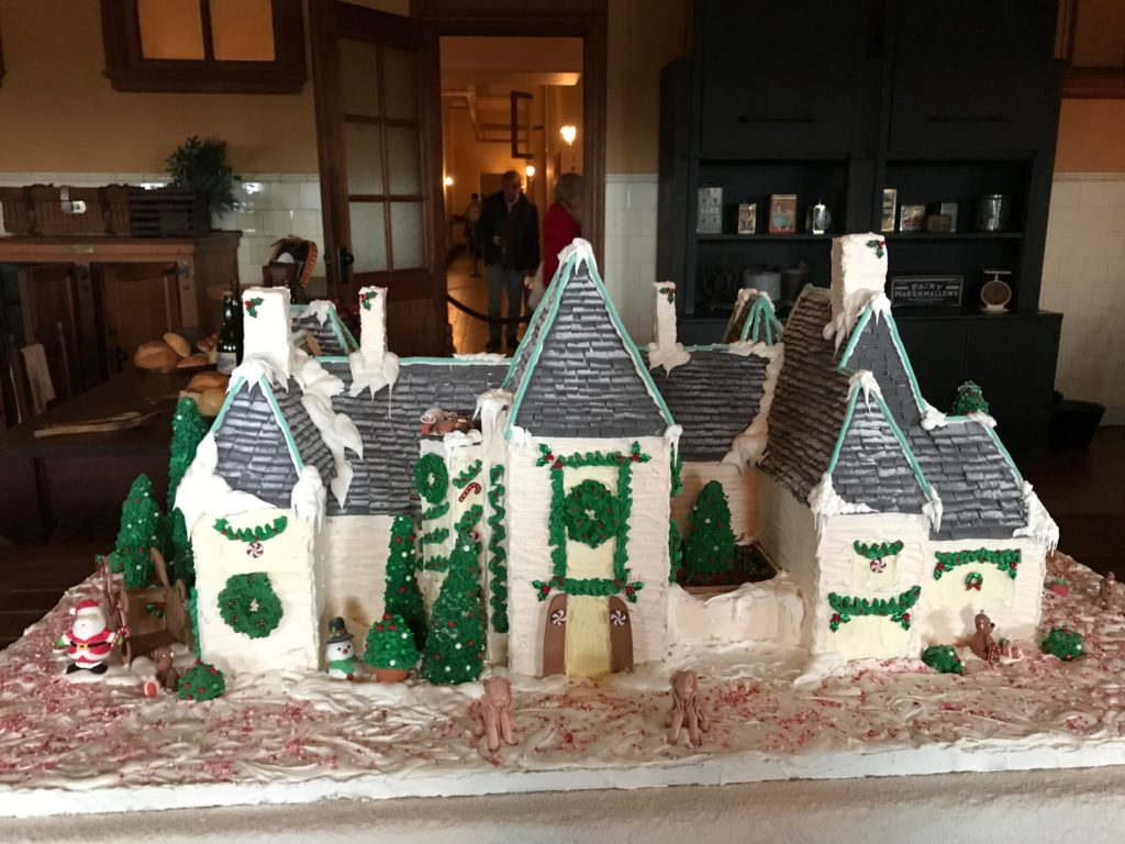 Picture of the Gingerbread House at the Biltmore Estate