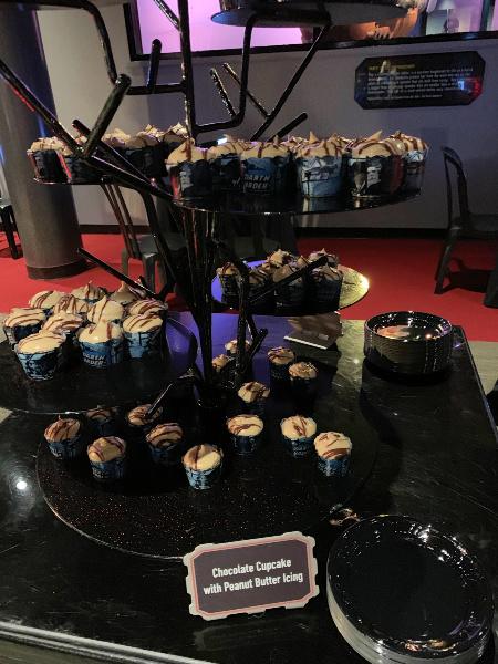 A Cupcake Display at the Star Wars Party