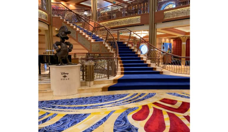 Disney Dream staircase