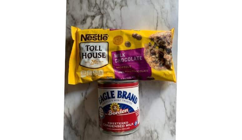 Ingredients for Fudge