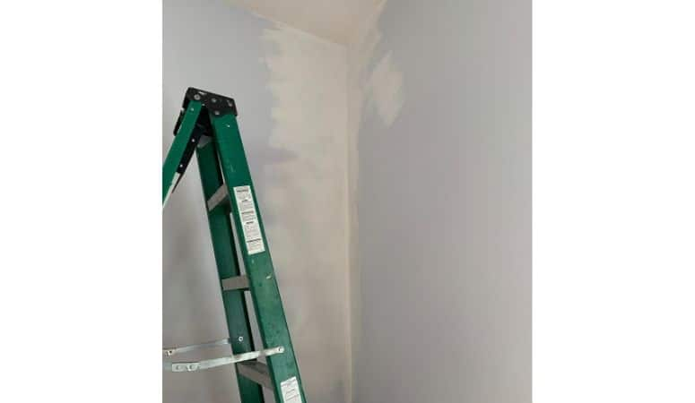 Finished Plaster Corner Repair