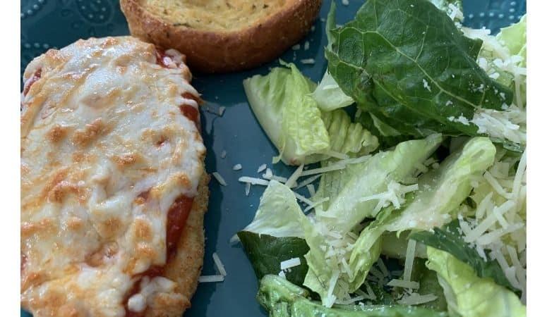 skinny taste air fryer chicken Parmesan